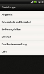 HTC One V - Internet - Apn-Einstellungen - 17 / 22
