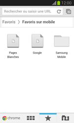 Samsung S7390 Galaxy Trend Lite - Internet - navigation sur Internet - Étape 16
