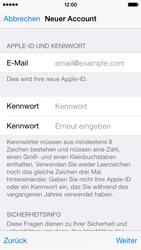 Apple iPhone 5S mit iOS 8 - Apps - Konto anlegen und einrichten - Schritt 24