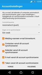 Sony Xperia Z3 - e-mail - handmatig instellen - stap 8