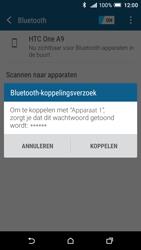 HTC One A9 - Bluetooth - Koppelen met ander apparaat - Stap 7