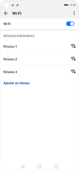 Huawei Nova 5T - WiFi - Configuration du WiFi - Étape 6