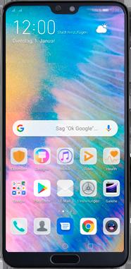 Huawei P20 Pro - Android Pie - Gerät - Einen Soft-Reset durchführen - Schritt 2