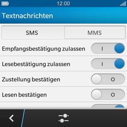 BlackBerry Q10 - MMS - Manuelle Konfiguration - Schritt 13