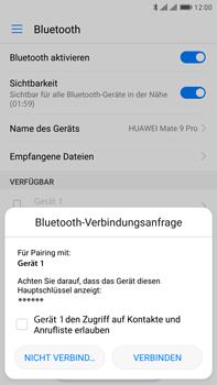 Huawei Mate 9 Pro - Bluetooth - Geräte koppeln - Schritt 8