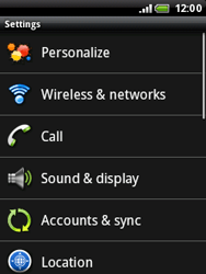 HTC A3333 Wildfire - Internet - Manual configuration - Step 4