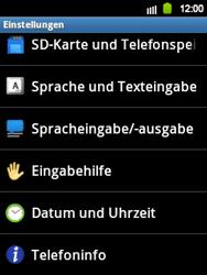Samsung Galaxy Y - Software - Installieren von Software-Updates - Schritt 5