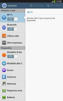 Samsung Galaxy Tab 3 8-0 LTE - WiFi - Configurazione WiFi - Fase 4