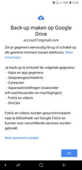 Samsung Galaxy A7 (2018) - toestel resetten - back-up maken met jouw account - stap 14