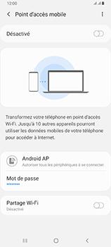 Samsung Galaxy A80 - WiFi - Comment activer un point d'accès WiFi - Étape 7