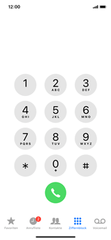 Apple iPhone X - Anrufe - Anrufe blockieren - Schritt 3