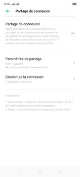 Oppo A9 2020 - Internet et connexion - Partager votre connexion en Wi-Fi - Étape 9