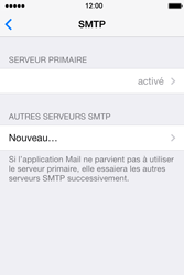 Apple iPhone 4S iOS 7 - E-mail - configuration manuelle - Étape 23