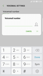 Samsung G935 Galaxy S7 Edge - Android Nougat - Voicemail - Manual configuration - Step 8