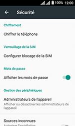 Alcatel U3 - Sécuriser votre mobile - Personnaliser le code PIN de votre carte SIM - Étape 5