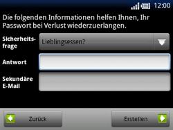Sony Ericsson Xperia X10 Mini Pro - Apps - Konto anlegen und einrichten - 12 / 19