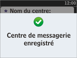 Nokia Asha 302 - SMS - configuration manuelle - Étape 9