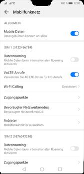 Huawei P20 Pro - Android Pie - WiFi - WiFi Calling aktivieren - Schritt 6