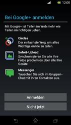 Sony Xperia T - Apps - Konto anlegen und einrichten - Schritt 9