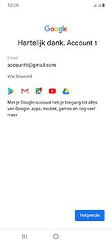 Samsung Galaxy A20e - apps - account instellen - stap 18