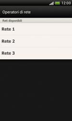 HTC Desire X - Rete - Selezione manuale della rete - Fase 9