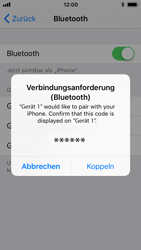 Apple iPhone 5s - Bluetooth - Geräte koppeln - 1 / 1