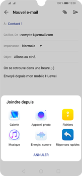 Huawei P30 Lite - E-mail - envoyer un e-mail - Étape 10