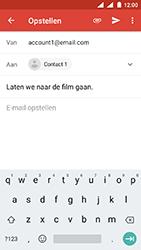 Nokia 3 - Android Oreo - E-mail - E-mails verzenden - Stap 8