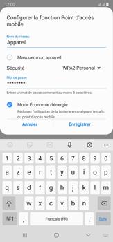 Samsung Galaxy Note20 Ultra 5G - Internet et connexion - Partager votre connexion en Wi-Fi - Étape 10
