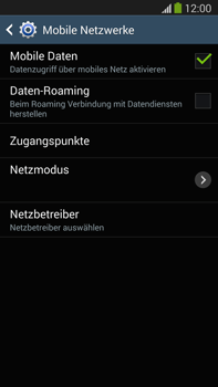 Samsung Galaxy Note 3 LTE - Internet - Apn-Einstellungen - 6 / 28