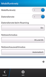BlackBerry Z10 - Ausland - Im Ausland surfen – Datenroaming - 0 / 0