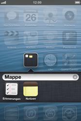 Apple iPhone 4 - Startanleitung - personalisieren der Startseite - Schritt 7