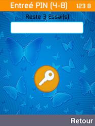 Archos F28 - Sécuriser votre mobile - Personnaliser le code PIN de votre carte SIM - Étape 7