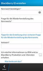 BlackBerry Z10 - Apps - Einrichten des App Stores - Schritt 10