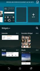 HTC One M9 - Startanleitung - Installieren von Widgets und Apps auf der Startseite - Schritt 5