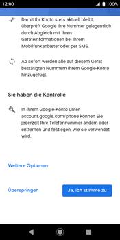 Sony Xperia XZ2 - Android Pie - Apps - Konto anlegen und einrichten - Schritt 15