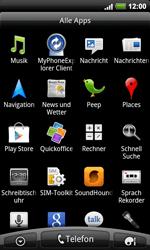 HTC Desire HD - Apps - Konto anlegen und einrichten - 1 / 1