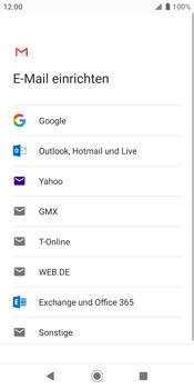 Sony Xperia XZ2 - Android Pie - E-Mail - Konto einrichten (gmail) - Schritt 8