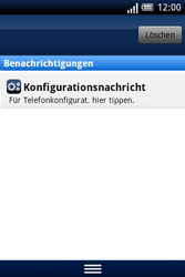 Sony Ericsson Xperia X8 - MMS - Automatische Konfiguration - Schritt 5
