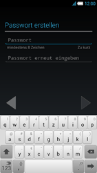 Alcatel Idol S - Apps - Konto anlegen und einrichten - 10 / 25