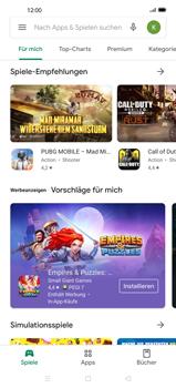 Oppo Find X2 - Apps - Installieren von Apps - Schritt 7
