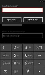 Nokia Lumia 920 LTE - Anrufe - Rufumleitungen setzen und löschen - 2 / 2