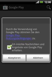 HTC Explorer - Apps - Konto anlegen und einrichten - 17 / 19