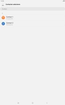 Samsung galaxy-tab-a-10-1-lte-2019-sm-t515 - Contacten en data - Contacten kopiëren van toestel naar SIM - Stap 9