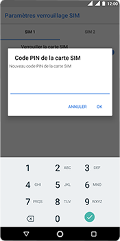 Nokia 5.1 - Sécurité - modifier SIM PIN - Étape 9