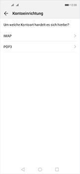 Huawei Nova 5T - E-Mail - Manuelle Konfiguration - Schritt 8