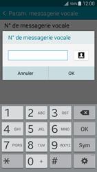 Samsung A500FU Galaxy A5 - Messagerie vocale - configuration manuelle - Étape 11