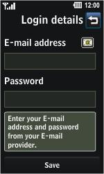 LG GD510 Pop - E-mail - Manual configuration - Step 5