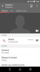 HTC Desire 530 - Contact, Appels, SMS/MMS - Ajouter un contact - Étape 10