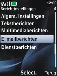 Nokia 6600i slide - E-mail - Handmatig instellen - Stap 5